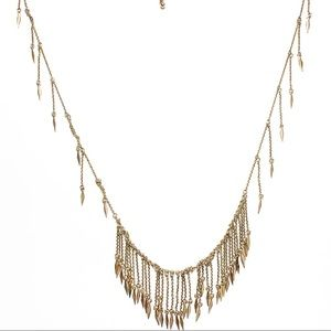 Urban Outfitters Long Gold Necklace